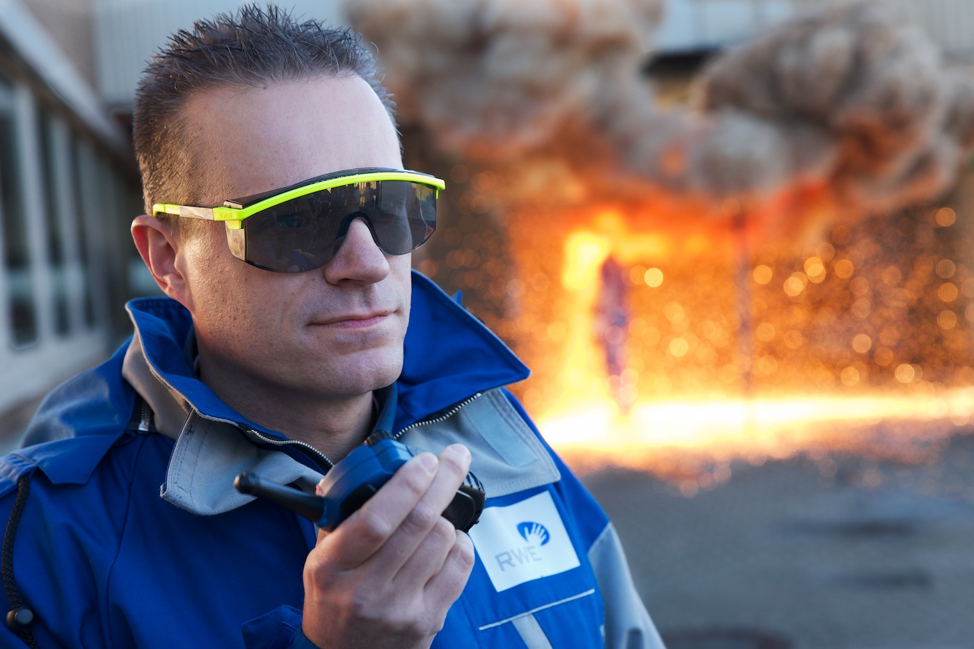 RWE Eurotest  |Materialprüfung Schutzanzüge