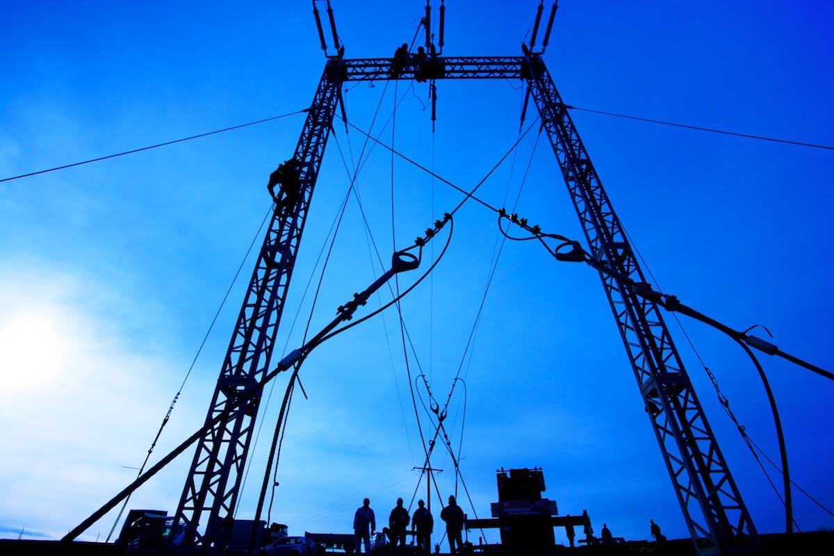 RWE Deutschland | Mastsetzung