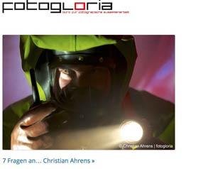 fotogloria - Interview mit dem Industriefotografen Christian Ahrens